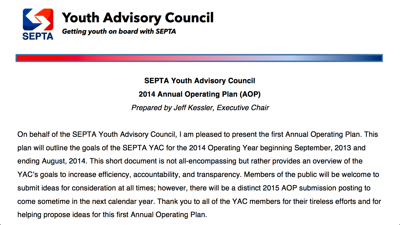 YAC Releases 2014 Annual Operating Plan